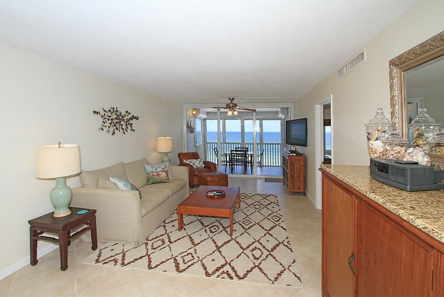 Real Estate Photography - 26340 Hickory Blvd, unit 501, Bonita Springs, FL, 34134 - Living Room