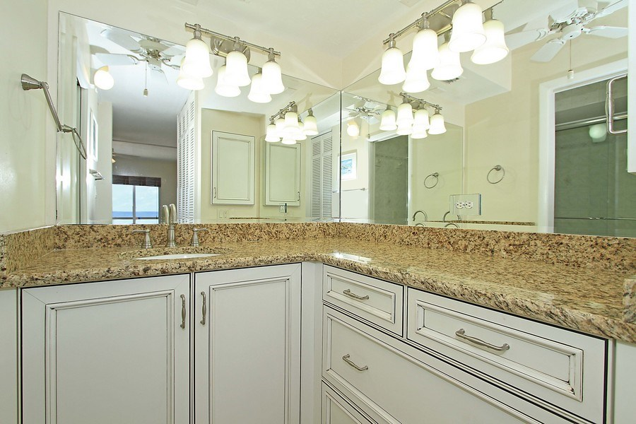 Real Estate Photography - 26340 Hickory Blvd, unit 501, Bonita Springs, FL, 34134 - Master Bathroom
