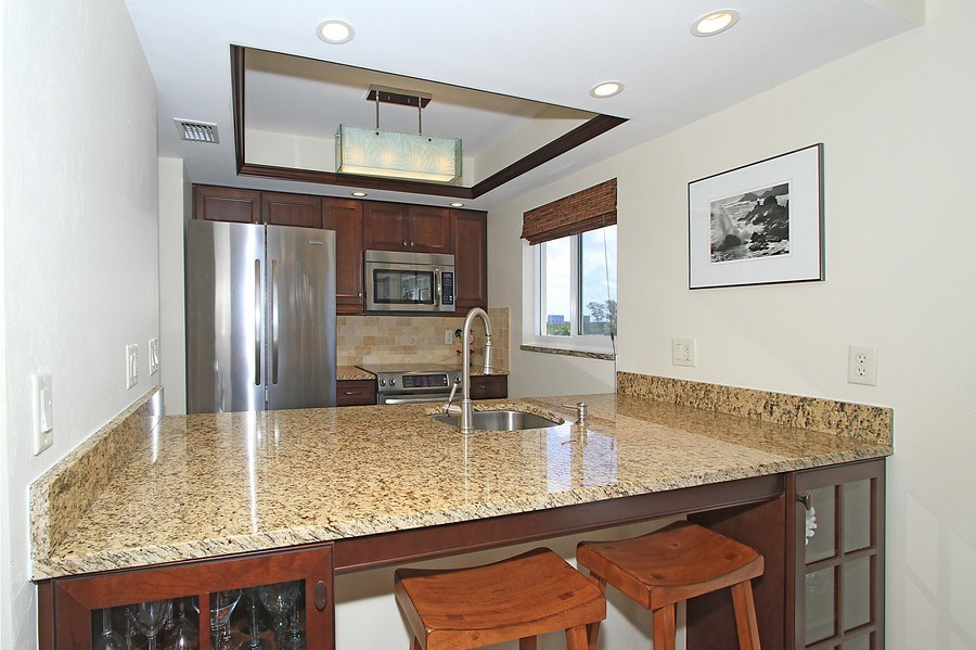 Real Estate Photography - 26340 Hickory Blvd, unit 501, Bonita Springs, FL, 34134 - Kitchen