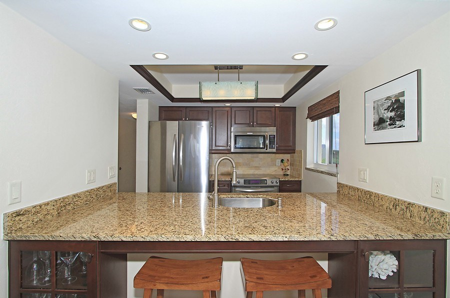 Real Estate Photography - 26340 Hickory Blvd, unit 501, Bonita Springs, FL, 34134 - Kitchen