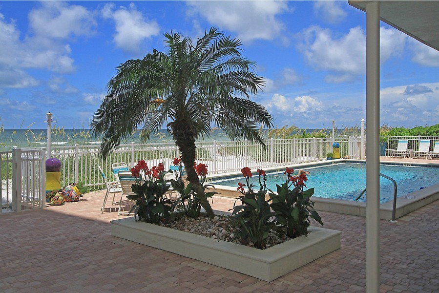 Real Estate Photography - 26340 Hickory Blvd, unit 501, Bonita Springs, FL, 34134 - Pool