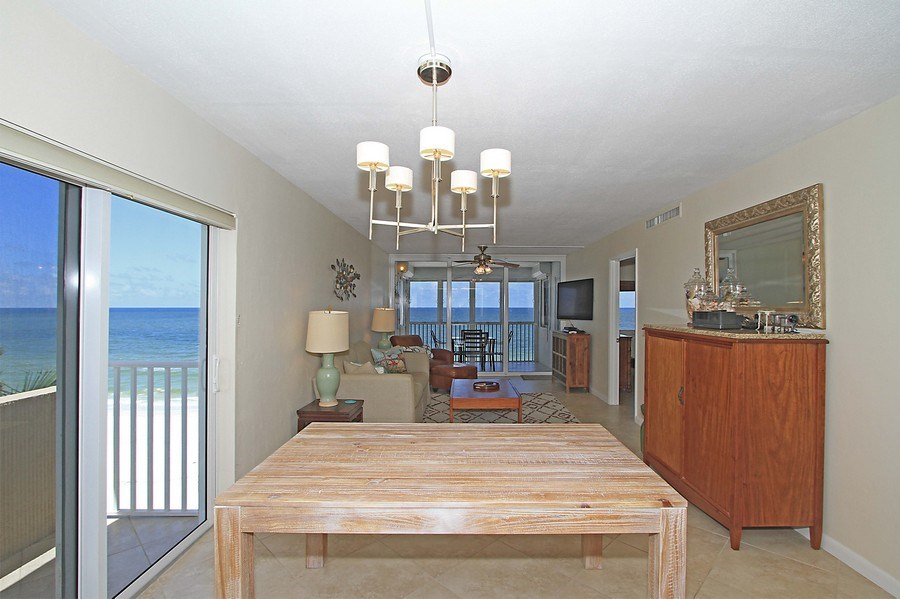 Real Estate Photography - 26340 Hickory Blvd, unit 501, Bonita Springs, FL, 34134 - Dining Room