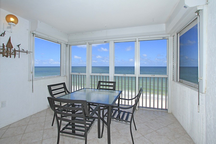 Real Estate Photography - 26340 Hickory Blvd, unit 501, Bonita Springs, FL, 34134 - Lanai
