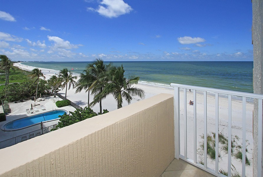 Real Estate Photography - 26340 Hickory Blvd, unit 501, Bonita Springs, FL, 34134 - Balcony