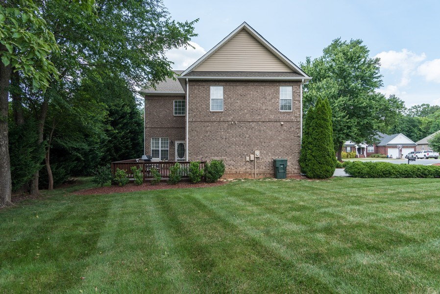 Real Estate Photography - 294 River Birch Cir, Mooresville, NC, 28115 - Side View