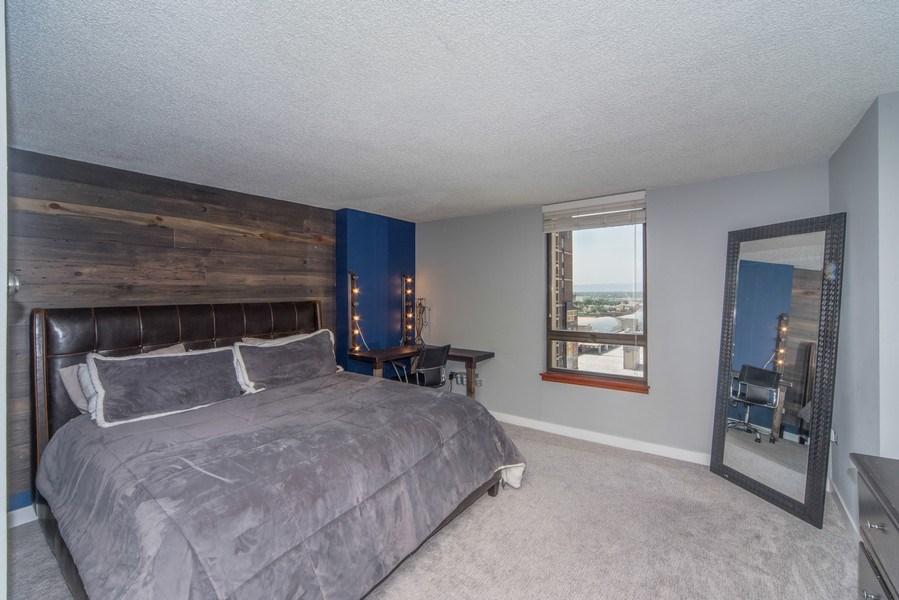 Real Estate Photography - 1020 15th Street Unit U-15A, Denver, CO, 80202 - Bedroom