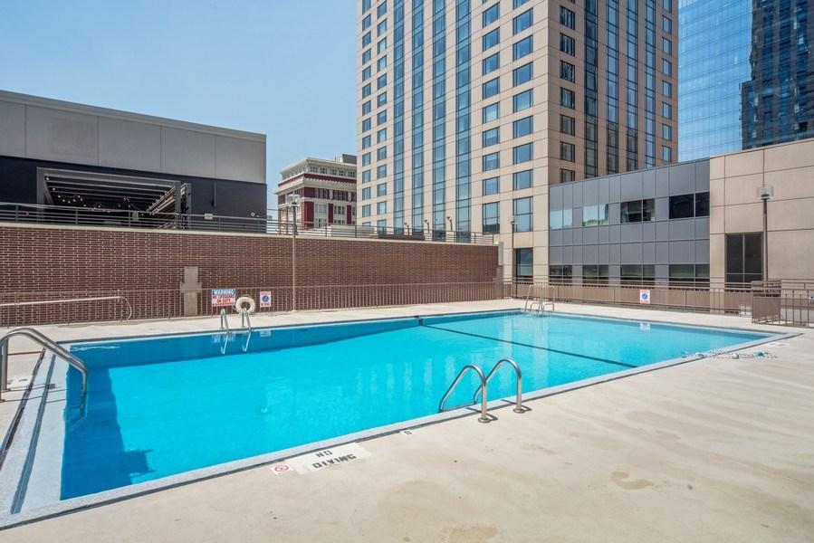 Real Estate Photography - 1020 15th Street Unit U-15A, Denver, CO, 80202 - Pool