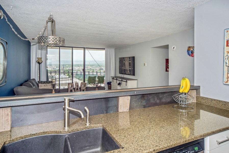 Real Estate Photography - 1020 15th Street Unit U-15A, Denver, CO, 80202 - Kitchen