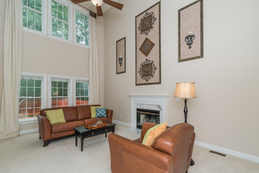 Real Estate Photography - 104 Wexwood Ct, Cary, NC, 27519 - Living Room