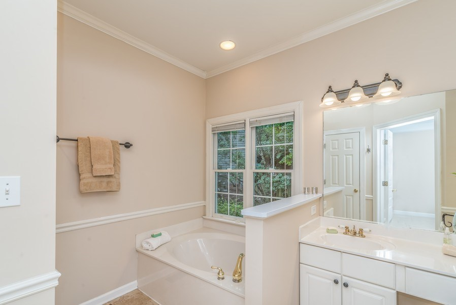 Real Estate Photography - 104 Wexwood Ct, Cary, NC, 27519 - Master Bathroom