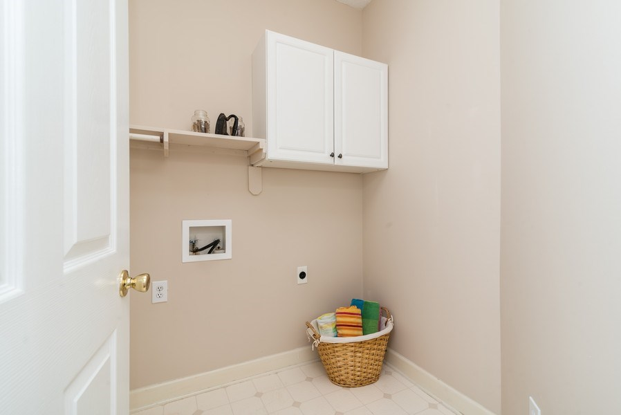Real Estate Photography - 104 Wexwood Ct, Cary, NC, 27519 - Laundry Room