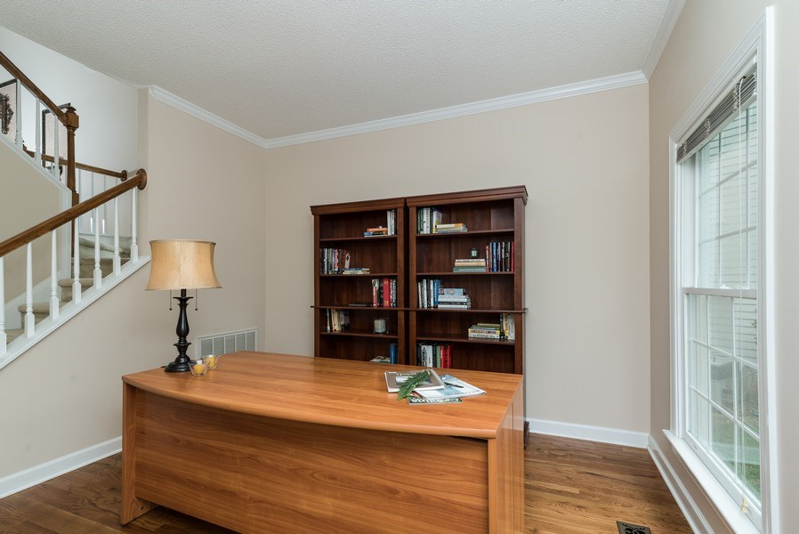 Real Estate Photography - 104 Wexwood Ct, Cary, NC, 27519 - Office