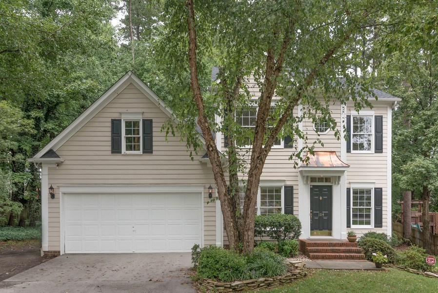Real Estate Photography - 104 Wexwood Ct, Cary, NC, 27519 - Front View