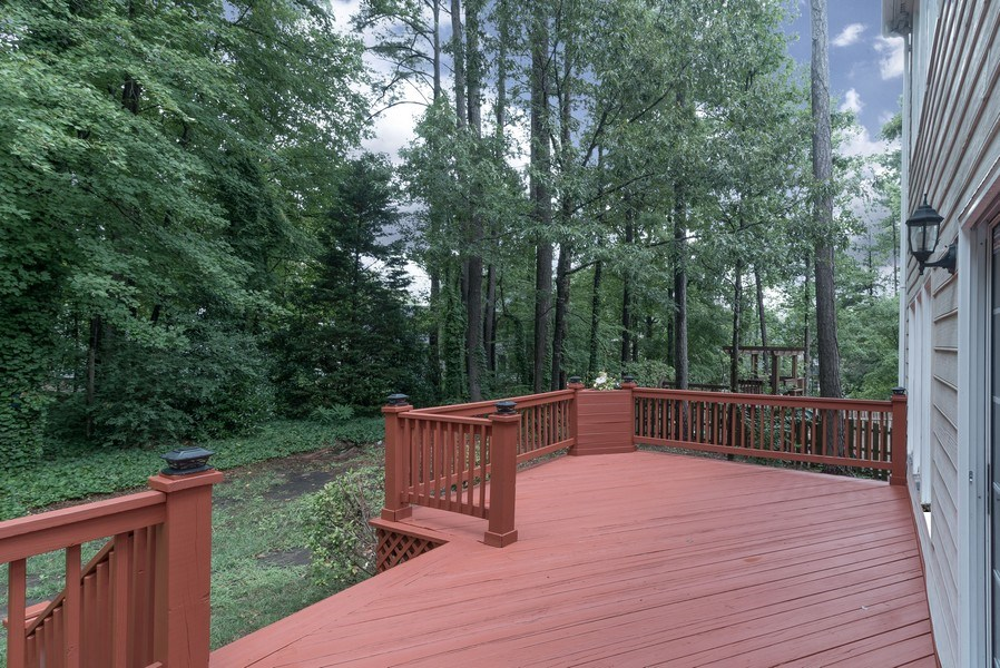 Real Estate Photography - 104 Wexwood Ct, Cary, NC, 27519 - Deck