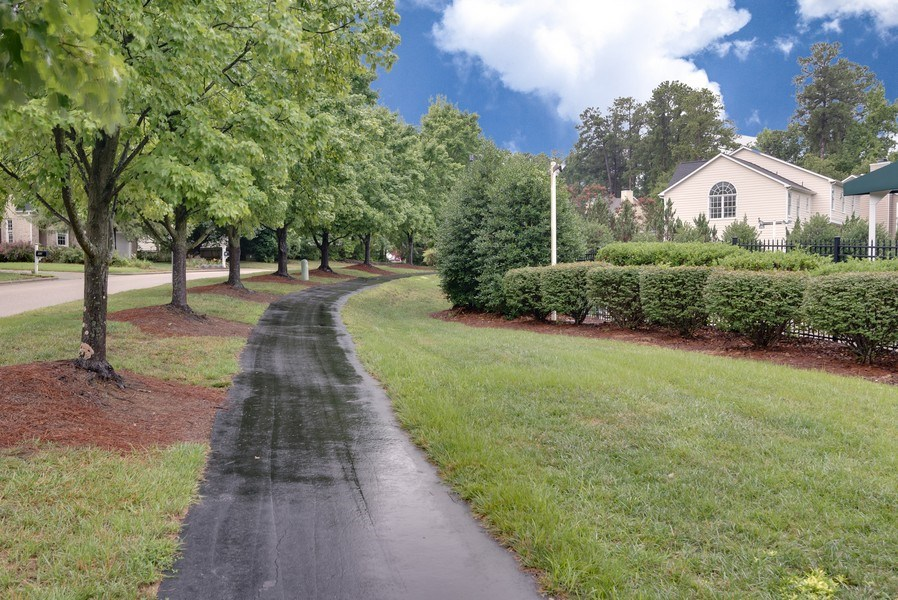 Real Estate Photography - 104 Wexwood Ct, Cary, NC, 27519 - Walking Path