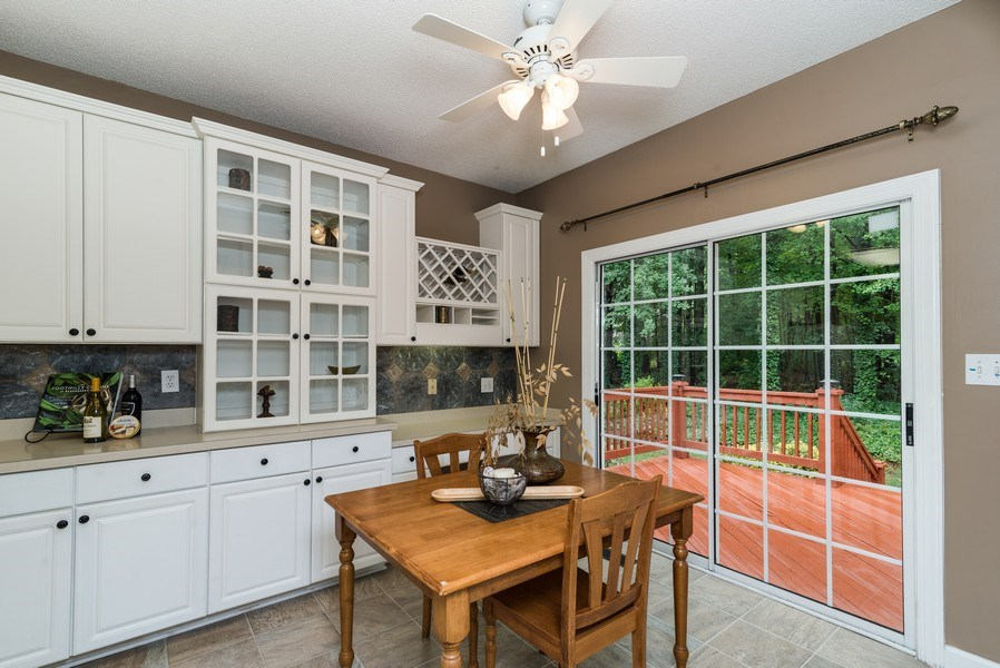 Real Estate Photography - 104 Wexwood Ct, Cary, NC, 27519 - Breakfast Nook