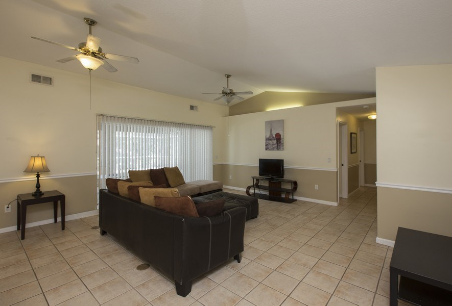 Real Estate Photography - 15 Coral Reef Court N, Palm Coast, FL, 32137 - Living Room