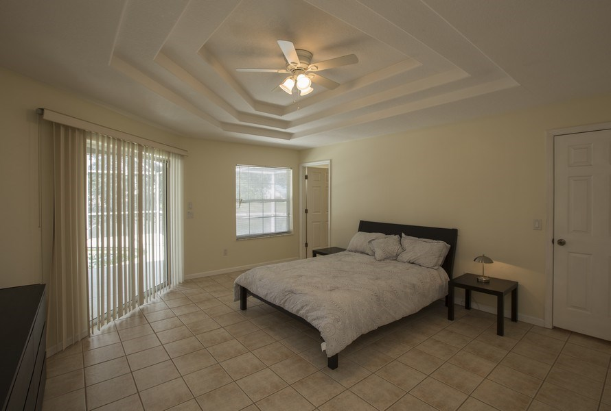 Real Estate Photography - 15 Coral Reef Court N, Palm Coast, FL, 32137 - Master Bedroom