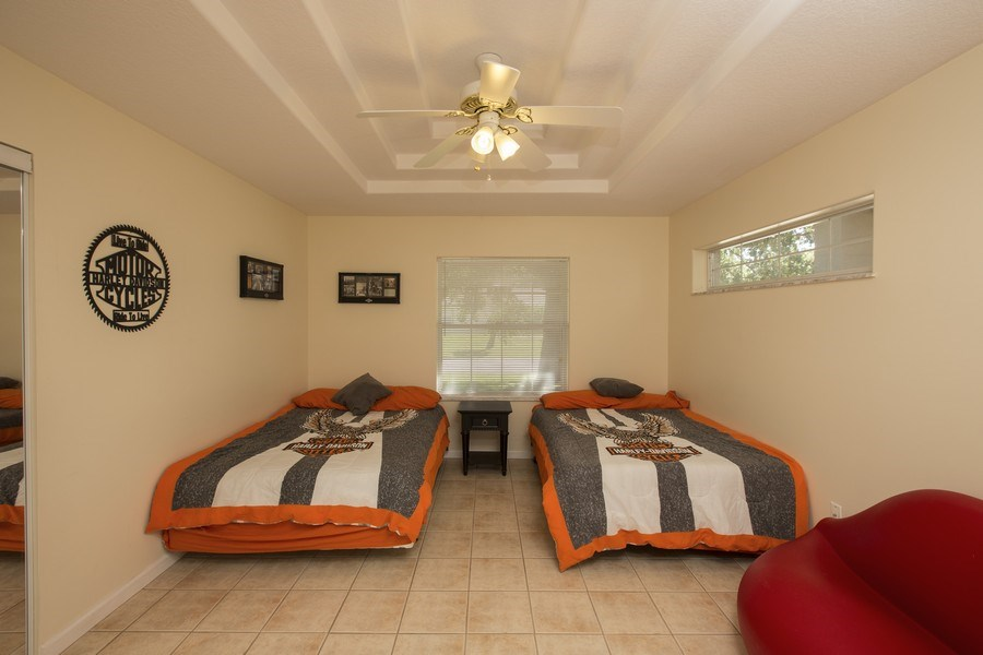Real Estate Photography - 15 Coral Reef Court N, Palm Coast, FL, 32137 - Bedroom