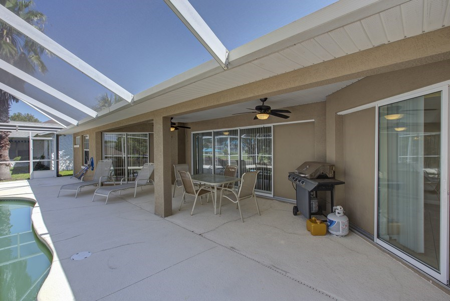 Real Estate Photography - 15 Coral Reef Court N, Palm Coast, FL, 32137 - Patio