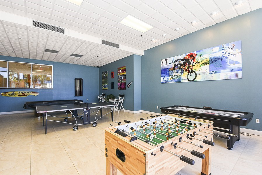 Real Estate Photography - 880 Mandalay Ave, Unit N104, Clearwater, FL, 33767 - Gameroom
