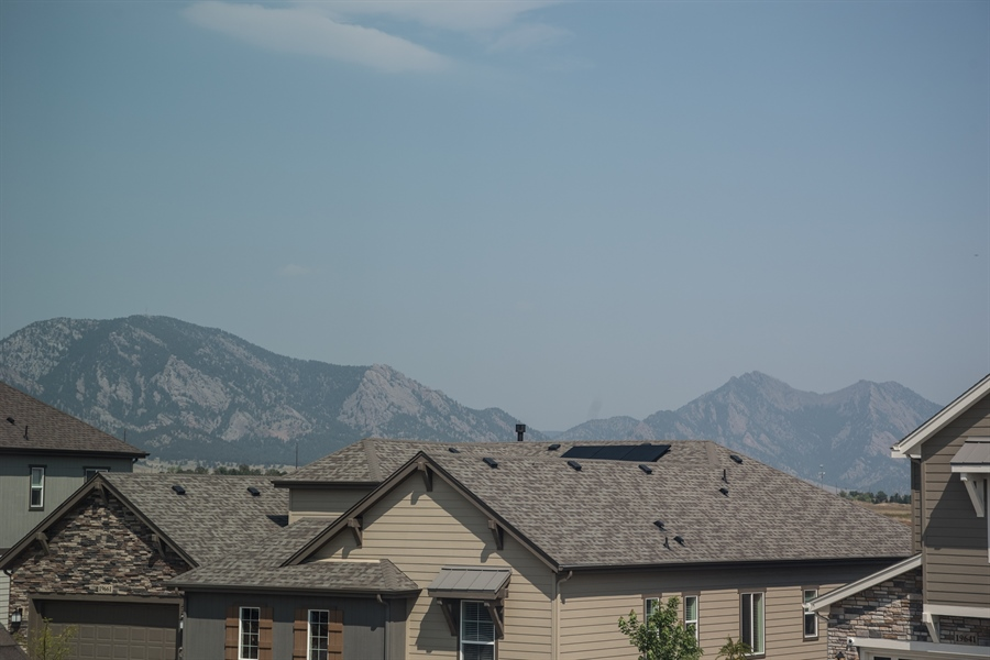 Real Estate Photography - 19612 W 95th Pl, Arvada, CO, 80007 - View from the Master Bedroom!