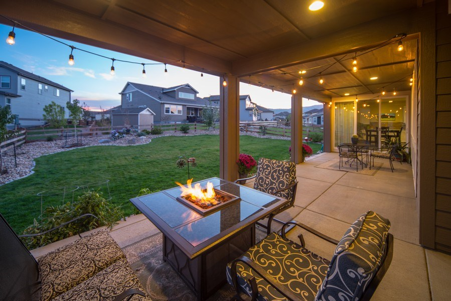 Real Estate Photography - 19612 W 95th Pl, Arvada, CO, 80007 - Enjoy the outdoor Colorado lifestyle in style
