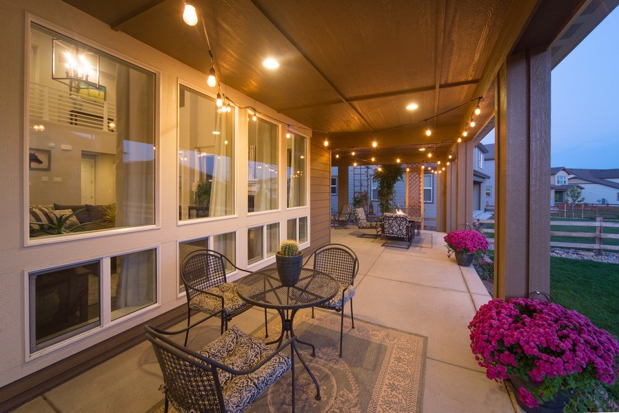 Real Estate Photography - 19612 W 95th Pl, Arvada, CO, 80007 - Impressive space for outdoor entertaining