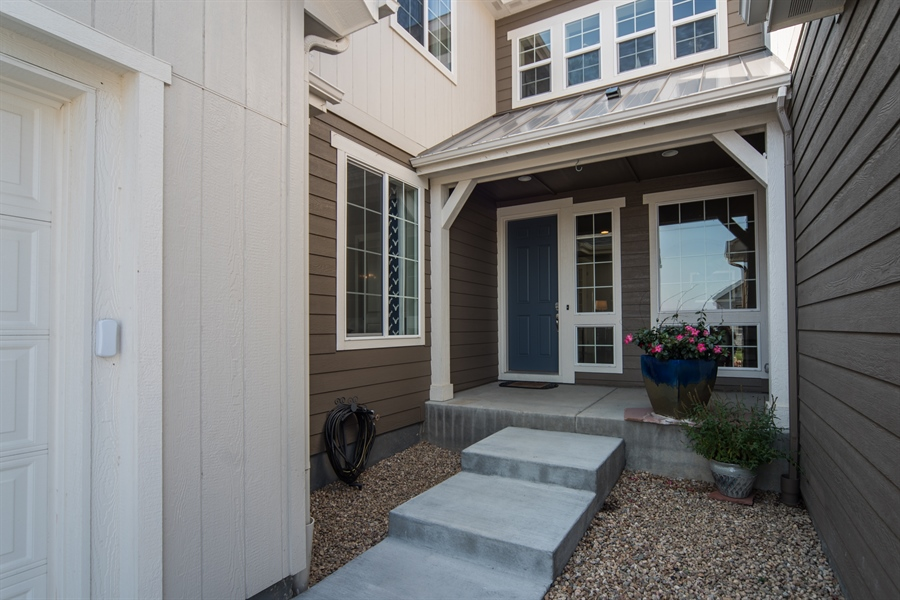 Real Estate Photography - 19612 W 95th Pl, Arvada, CO, 80007 - Welcoming Front Porch to Greet Your Guests