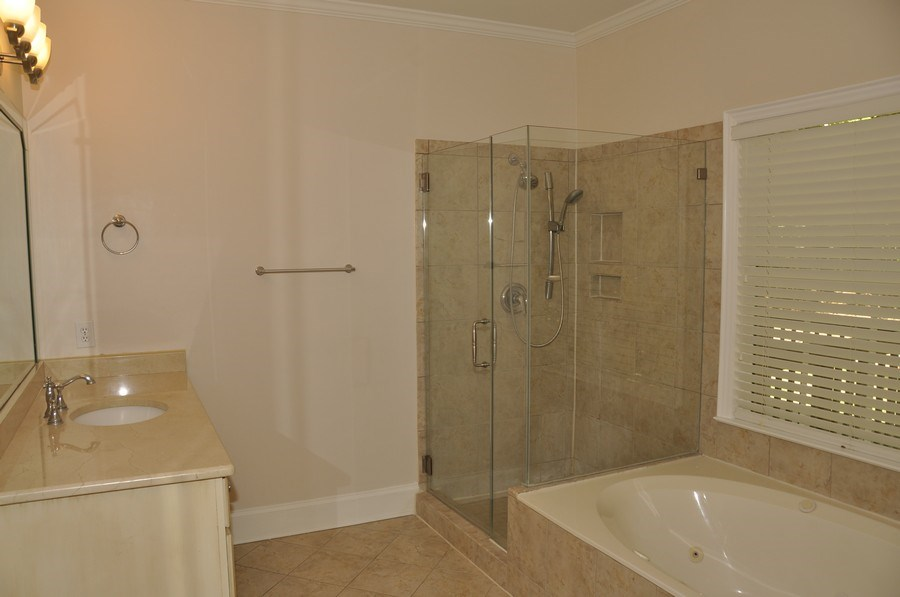 Real Estate Photography - 5385 Stone brook Ct, Davidson, NC, 28036 - Master Bathroom
