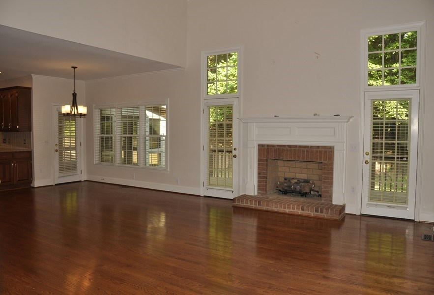 Real Estate Photography - 5385 Stone brook Ct, Davidson, NC, 28036 - Family Room