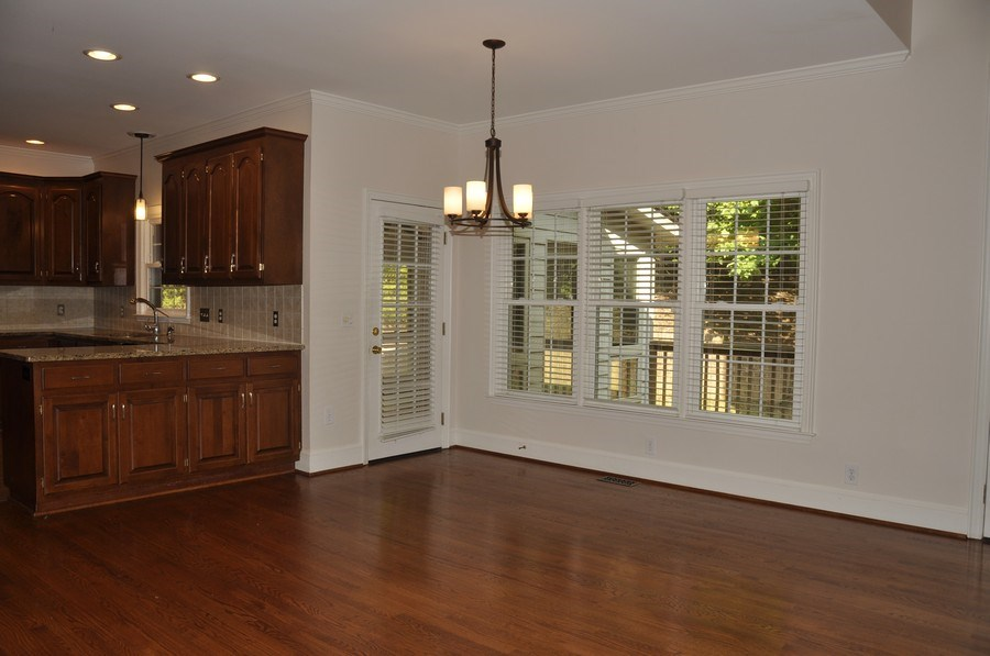 Real Estate Photography - 5385 Stone brook Ct, Davidson, NC, 28036 - Breakfast Room