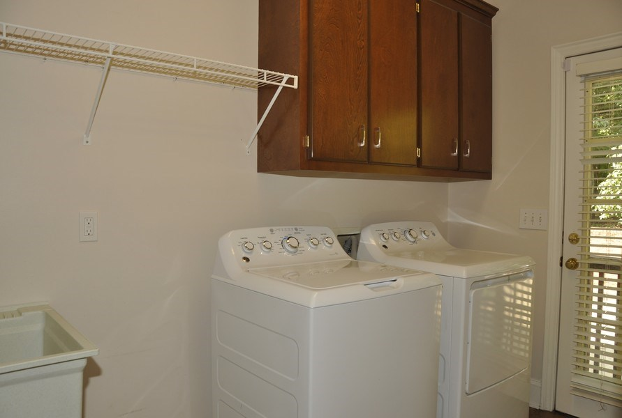 Real Estate Photography - 5385 Stone brook Ct, Davidson, NC, 28036 - Laundry Room