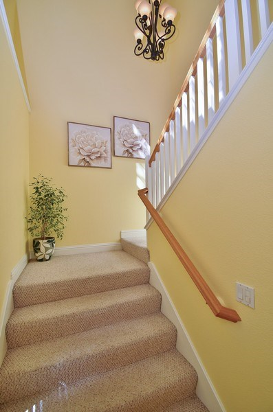 Real Estate Photography - 4143 Torino Ct, Pleasanton, CA, 94588 - Staircase