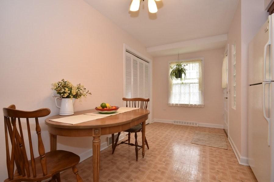Real Estate Photography - 4237 N Newland, Harwood Heights, IL, 60706 - Dining Room