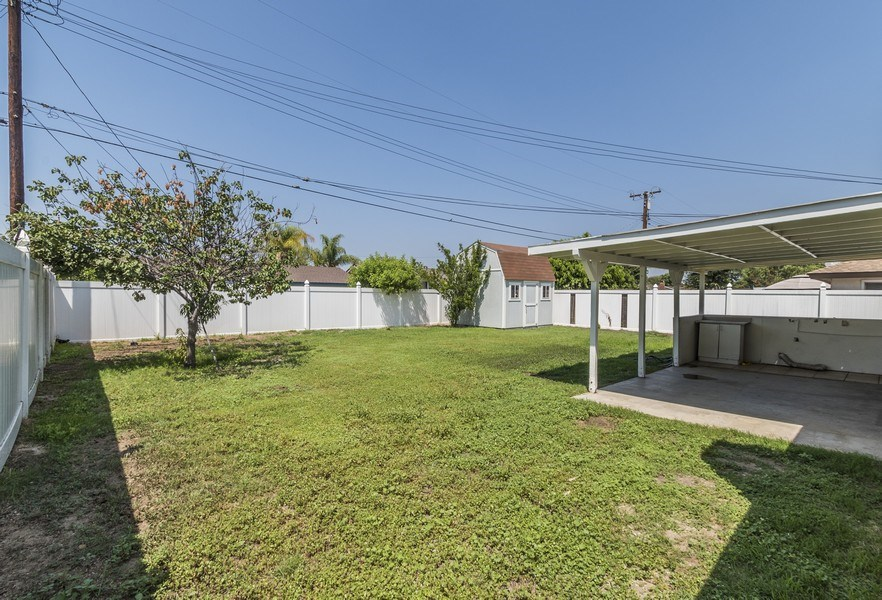 Real Estate Photography - 1725 N Concerto Dr, Anaheim, CA, 92807 - Back Yard