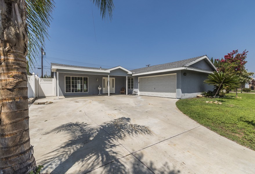 Real Estate Photography - 1725 N Concerto Dr, Anaheim, CA, 92807 - Driveway