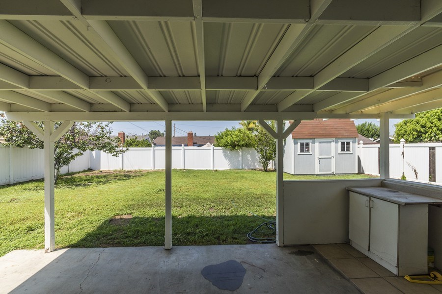 Real Estate Photography - 1725 N Concerto Dr, Anaheim, CA, 92807 - Patio
