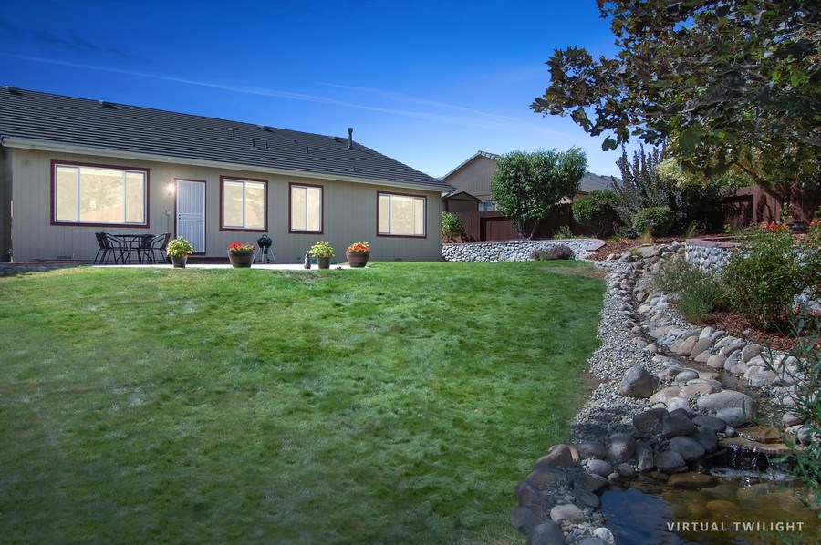 Real Estate Photography - 467 Fort Collins, Reno, NV, 89511 - Back Yard