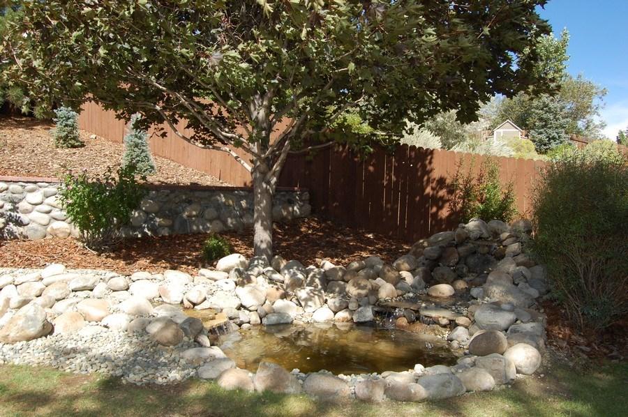 Real Estate Photography - 467 Fort Collins, Reno, NV, 89511 - Pond
