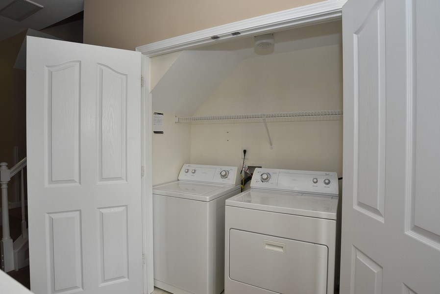 Real Estate Photography - 13432 Delstone Dr, Huntersville, NC, 28078 - Laundry Room