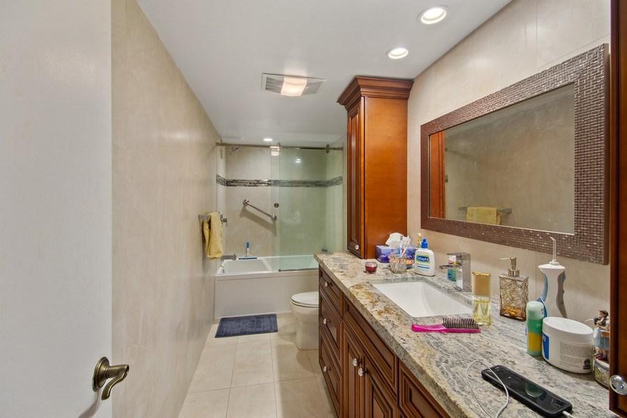 Real Estate Photography - 3410 Galt Ocean Dr, 1101, Ft Lauderdale, FL, 33308 - Master Bathroom