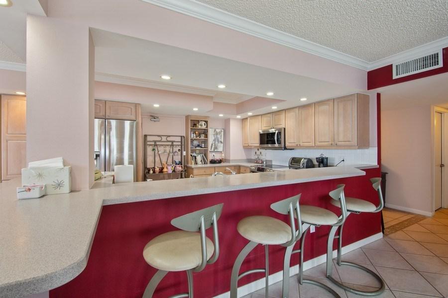 Real Estate Photography - 3410 Galt Ocean Dr, 1101, Ft Lauderdale, FL, 33308 - Kitchen