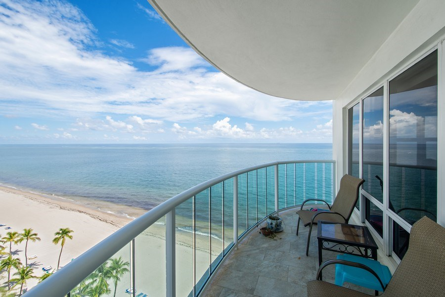 Real Estate Photography - 3410 Galt Ocean Dr, 1101, Ft Lauderdale, FL, 33308 - Front View