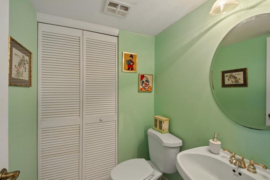 Real Estate Photography - 3410 Galt Ocean Dr, 1101, Ft Lauderdale, FL, 33308 - Half Bath