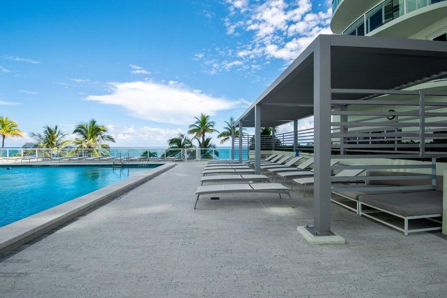 Real Estate Photography - 3410 Galt Ocean Dr, 1101, Ft Lauderdale, FL, 33308 - Patio