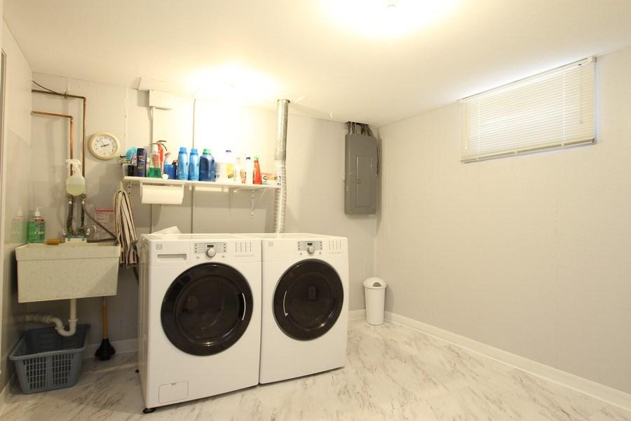 Real Estate Photography - 816 Sandra Ln., Cary, IL, 60013 - Laundry Room