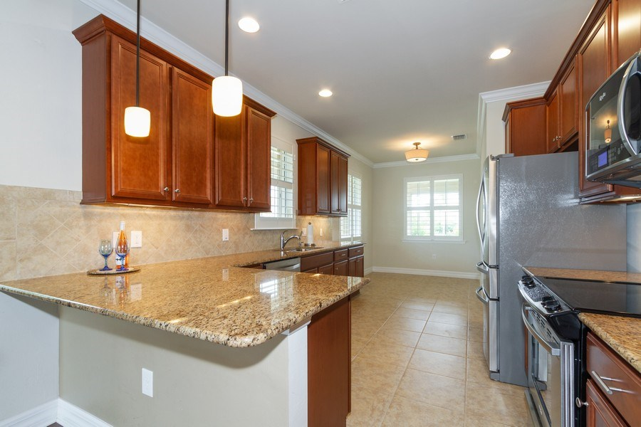 Real Estate Photography - 8180 Chianti Lane, Naples, FL, 34114 - Kitchen