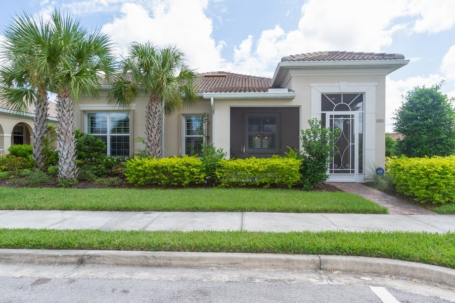 Real Estate Photography - 8180 Chianti Lane, Naples, FL, 34114 - Front View