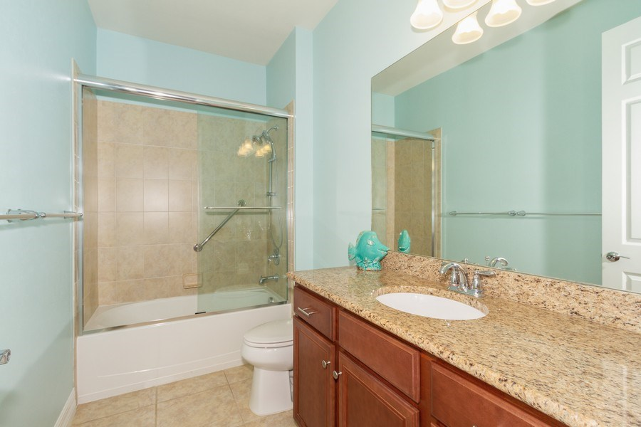 Real Estate Photography - 8180 Chianti Lane, Naples, FL, 34114 - Bathroom